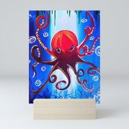 Dancing Octopus Mini Art Print