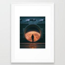 NEW HOME (everyday 03.18.18) Framed Art Print