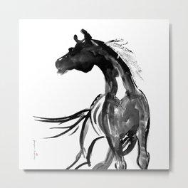 Horse (Ink sketch) Metal Print