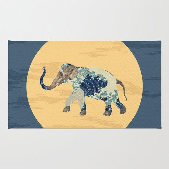 Elephant Polka Rug