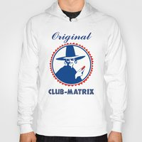 matrix Hoodies featuring Club Matrix by dP ARТ