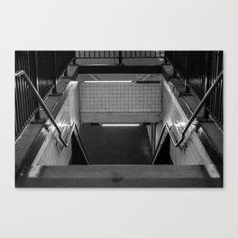 Subway Lines Canvas Print