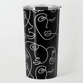 Faces In the Dark 2 Travel Mug