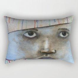 through the colors of life Rectangular Pillow