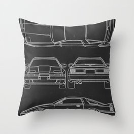 Supra Mk 3 Throw Pillow