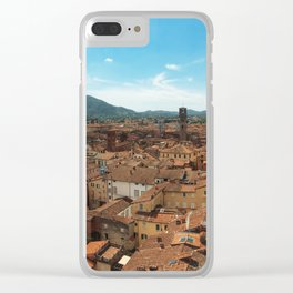 Lucca view Clear iPhone Case