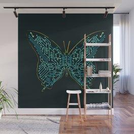 Mechanical Butterfly Wall Mural