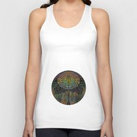 biology Tank Tops featuring Tree of New Life by Klara Acel