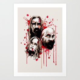Cleansing of the Wicked Art Print