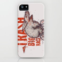 Trash BIG RACE iPhone Case