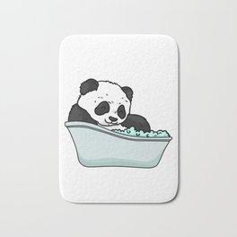 Bathtub panda Bath Mat