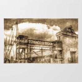 Tobbaco Dock London Vintage Rug