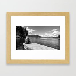 Pactola thoughts Framed Art Print