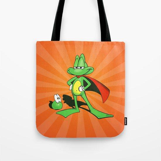 Superfrog - Digital Work Tote Bag
