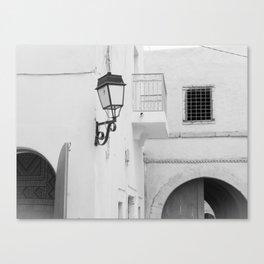 Djerba street, Tunisia Canvas Print