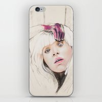 chandelier iPhone & iPod Skins featuring Chandelier by Dibujados