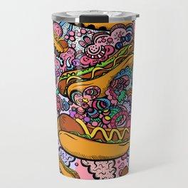 Hot dogs attack Travel Mug
