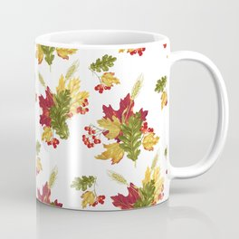Harvest Season Pattern Coffee Mug