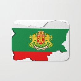 Bulgarian map Bath Mat