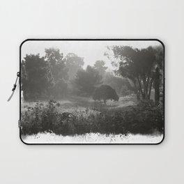 Foggy Path Laptop Sleeve