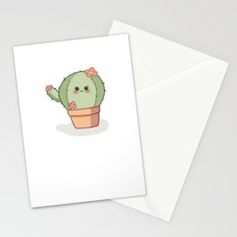 Sweet Little Cactus Stationery Cards