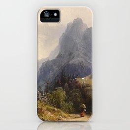 Heinrich Schubert Art iPhone Case