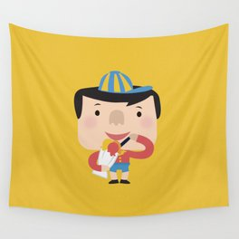 Ice Cream Please (Yellow Tales Series #2) Wall Tapestry