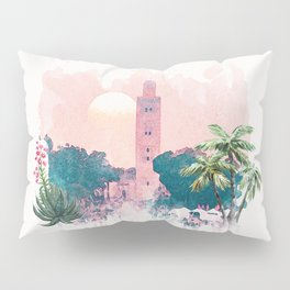 Marrakech La Koutoubia Pillow Sham