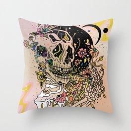 TEEMING Throw Pillow