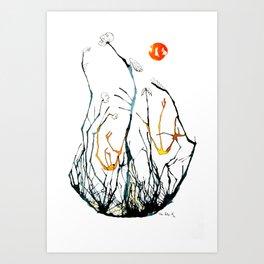 Burtonesque Art Print
