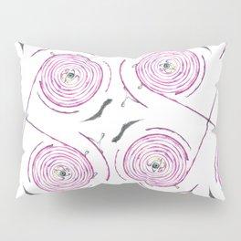 A Red Onion Pillow Sham