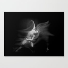 Dancing #2 Canvas Print