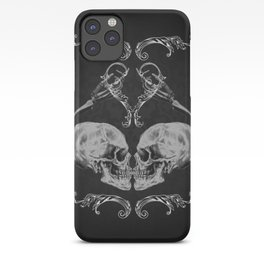 """Skull in Love"" iPhone Case"
