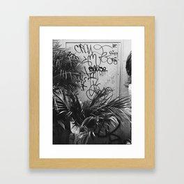 Wandering. Framed Art Print