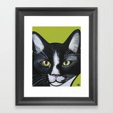 Laser the Cat Framed Art Print