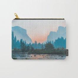 Pastel Yosemite #society6 #buyart Carry-All Pouch