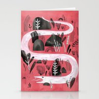snake Stationery Cards featuring Snake by Maggie Chiang