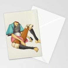 When I Was Little, My Father Was Famous. (No type) Stationery Cards