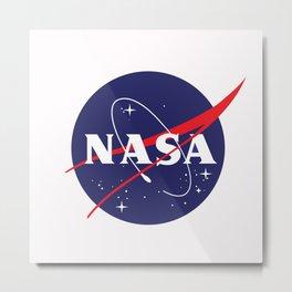 I Need My Space NASA Metal Print