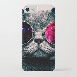 sunglasses cat iPhone Case