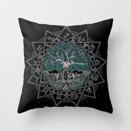 Gate & Key: Sidereal 13 Sign Astrology Throw Pillow