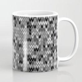 Heathered knit textile 4 Coffee Mug