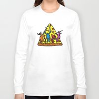 keith haring Long Sleeve T-shirts featuring Haring - Ninja by Krikoui