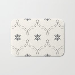 WILDFLOWER JASMIN GREY Bath Mat