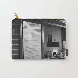 Cafe Menu And Window Carry-All Pouch