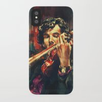 iggy pop iPhone & iPod Cases featuring Virtuoso by Alice X. Zhang