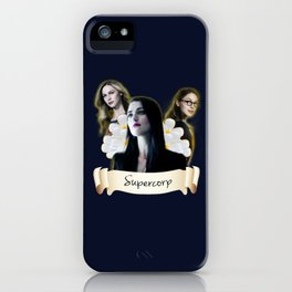 Supercorp flower iPhone Case