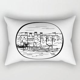 Wales castle Rectangular Pillow