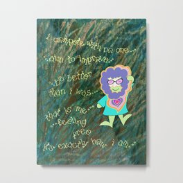 Jerry for Laurie Metal Print