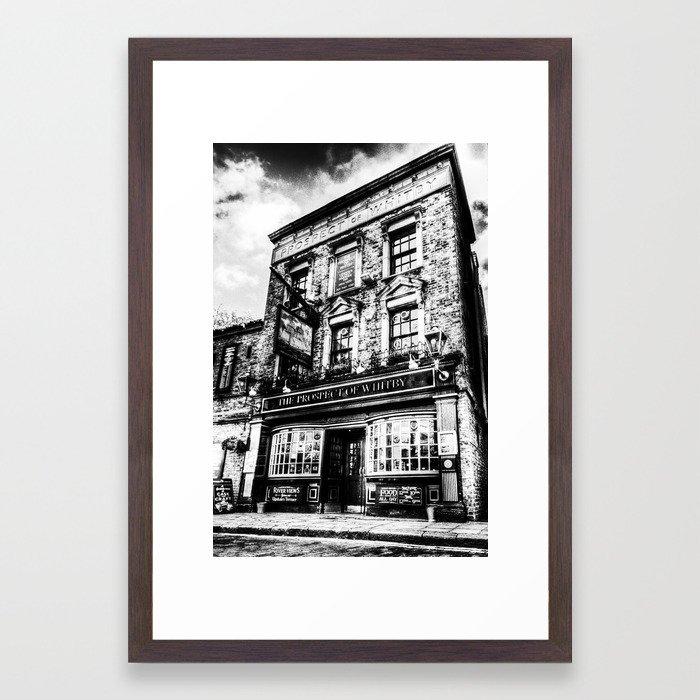 Prospect of Whitby Pub London 1520 Framed Art Print by davidpyatt ...